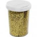 Pot de paillettes 75grs or