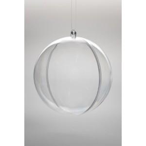 Boules transparentes Ø6cm